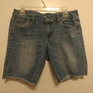 Mossimo Bermuda shorts, size 11